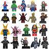 All Super heroes Marvel Spiderman Ironman Batman fit Lego Custom Mini figure