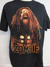 NEW - ROB ZOMBIE HELL ON EARTH TOUR BAND CONCERT / MUSIC T-SHIRT 2XL / X X LARGE