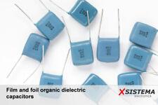 K40U-9, K42U-2, K73-17,... Film and Foil Organic Dielectric Capacitors