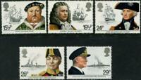 1982 GREAT BRITAIN 🍁🚢MARITIME HERITAGE SET  🚢MNH 🚢🍁Scott # 991 - 995