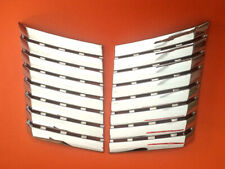 2010-14 F150 Raptor Chrome ABS For Hood Scoop Engine Air Flow Vent Covers