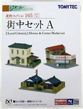 Tomytec (Building 165) Town Set A 1/150 N scale