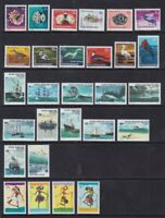 1969 1976 1994 COCOS IS. SHIPS BIRDS SHELLS MARINE FAUNA PUPPETS - COMPLETE NH