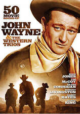 John Wayne  The Western Trios: 50 Movie Roundup (DVD) McLintock!, Forbidden Trai