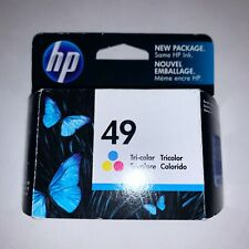 HP 49 Tricolor Ink Cartridge 51649A Genuine Ex 11/2011
