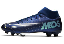 NIKE Mercurial Superfly Acad DF FG Football Boots Mens Blue SizeUK11.5*REFCRS101