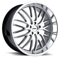 20x10 TSW Snetterton 5x112 Rims +42 Hyper Silver Wheels (Set of 4)