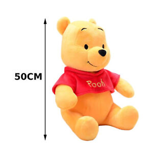 50CM Pooh Bear Plush Toy Doll Plushie Winnie Eeyore Piglet Tigger