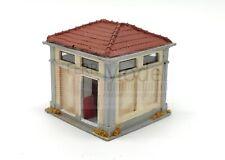 FERRMODEL 370 - Gabinetti di stazione FS con tetto in tegole. colore sabbia chia