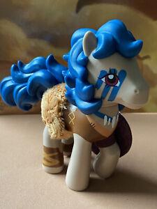 "MLP 2021 My Little Pony ""VALOR STRONGHOOF"" Barbarian Pony by Hasbro 4-5""_NEW"