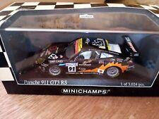 Minichamps 1/43 Porsche 911 Gt3 RS 24 heures de Spa 2003