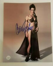 CARRIE FISHER HAND SIGNED AUTOGRAPHED 8X10 COA