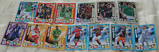 Adrenalyn 2016-2017 Ligue 1 lot of 13 different foil special insert cards NEW