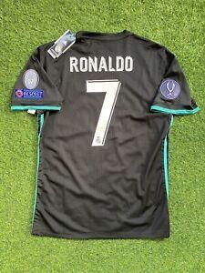 real madrid 2017-2018 away Ronaldo Super Cup shirt jersey camiseta magila
