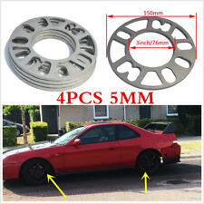 4PCS Alloy Aluminum Wheel Spacers Adaptor Shims Plate 4/5 Stud For Auto Car Tire
