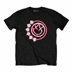 Men's Blink-182 Six Arrow Smiley Crew Neck T-Shirt