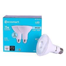 EcoSmart Led 75W Equivalent Par30 Dimmable Flood Light Bulb 2-Pack