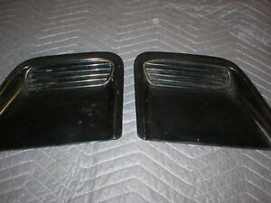 1993 -97 Firebird Trans Am Hood Vents Grills Filler Section Dam spoiler GM BLACK