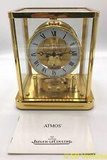 Jaeger-LeCoultre Atmos Mantle Clock 540 13 Jewels Roman Numerals #647547 Swiss