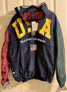 Ralph Lauren Polo USA Olympic Team mens windbreaker M