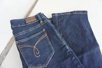 ESPRIT Medium Rise skinny boot stretch Jeans Hose 29/32 W29 L32 darkblue TOP B1