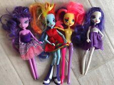 "9"" Hasbro My Little PonyEquestria Girls Doll Rainbow lot 4"
