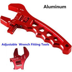 1x Adjustable AN3-AN12 Aluminum Alloy Lightweight AN Fitting Wrench Tool For Car