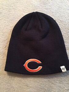 CHICAGO BEARS NFL YOUTH BEANIE CAP HAT FORTY SEVEN BRAND NWT