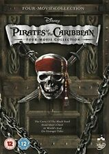 Pirates of The Caribbean 1-4 8717418327965 With Johnny Depp DVD Region 2