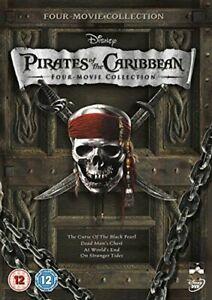 Pirates of the Caribbean 1-4 Box Set [DVD][Region 2]