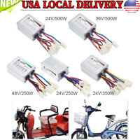 DC 24V/36V/48V 500W Motor Brushed Controller Box For Electric Scooter E-bike New
