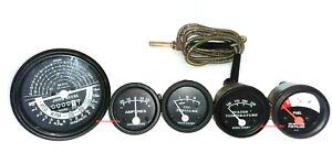John deere tachometer Temp Oil Amp Fuel Gauge Set B/B ME