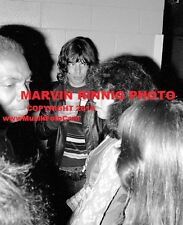 "ROLLING STONES MICK JAGGER 1972 PHOTO 8x11"" RARE- BACKSTAGE @ ROD STEWART"