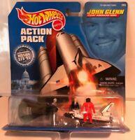 Mattel Hot Wheels Action Pack John Glenn Great American Hero 1998-0064 *