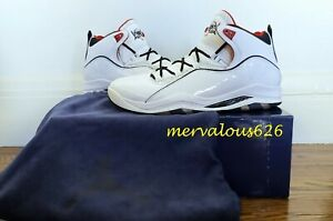 DS Jordan Olympia United We Rise - White/Red/Obsidian [333830 162] Size 12 2008