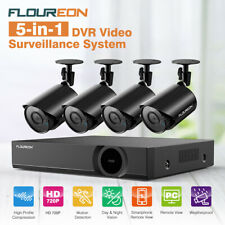 5 IN 1 CCTV 4CH 1080N DVR Recorder 1500TVL Home Outdoor Security Camera TOP!