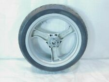 BMW K1 K1100LT R1100R R1100RT R1100RS & R850R Cast Silver Rear Wheel Rim & Tire