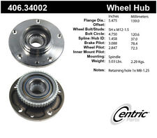 Wheel Bearing and Hub Assembly-Premium Hubs Front Centric 406.34002