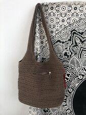THE SAK Woven Crochet Hobo Shoulder