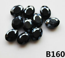 New 10pcs 9x12mm Faceted Oblong Finding Cut Glass Crystal Loose Oval Beads B160