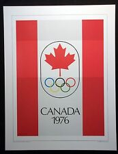 1976   Olympic Poster  CANADA