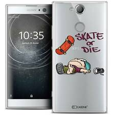 "Coque Crystal Gel Pour Sony Xperia XA2 (5.2"") Souple BD 2K16 Skate Or Die"