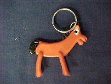 Gumby Sidekick Pal Pokey Vintage 1985 Keychain