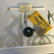Drafting Supplies Bundle Some Miscellaneous Vintage Pieces