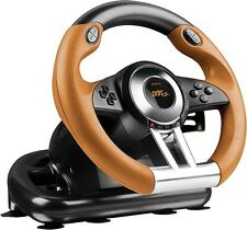 Speedlink DRIFT O.Z. Racing Wheel - for PS3, black-orange