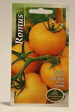 Heirloom Yellow Romus Tomato Lycopersicon esculentum Vegetable seeds, Томат