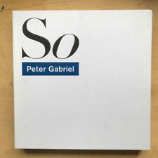 PETER GABRIEL SO - 25TH ANNIVERSARY DELUXE EDITION (BOX) LP NICE SET WITH LP/12""