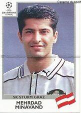 N°113 MINAVAND SK STURM GRAZ UEFA CHAMPIONS LEAGUE 1999/2000 STICKER PANINI