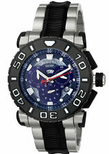 Swiss Made Invicta 6311 Reserve Ocean Hawk SS Blue Dial Chronograph Men's Watch