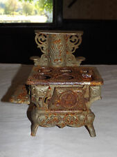 VINTAGE SALESMAN SAMPLE PERFECTION MINI CAST IRON STOVE